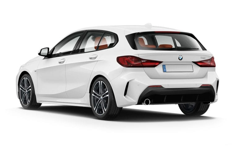 BMW 1 Series 118 Hatch 5Dr 1.5 i 136PS M Sport 5Dr DCT [Start Stop] [Tech] back view