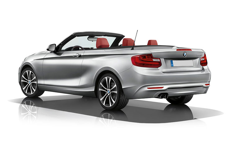 BMW 2 Series 220 Convertible 2.0 d 190PS M Sport 2Dr Manual [Start Stop] back view