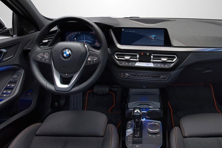 BMW 1 Series 118 Hatch 5Dr 1.5 i 136PS M Sport 5Dr DCT [Start Stop] [Tech] inside view