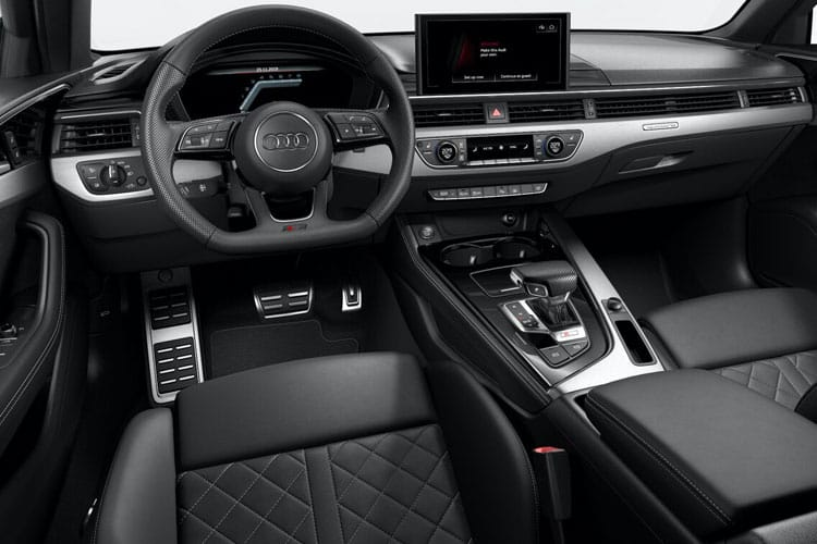 Audi A4 35 Saloon 4Dr 2.0 TDI 163PS S line 4Dr S Tronic [Start Stop] inside view